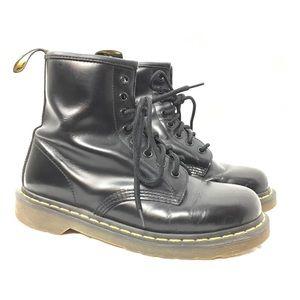 DR MARTENS 8 Hole Lace Up Combat Boots